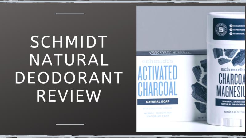 Schmidt Natural Deodorant Review