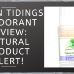 Green Tidings Deodorant Review