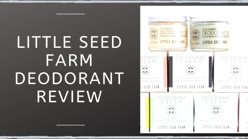 Little Seed Farm Deodorant Review