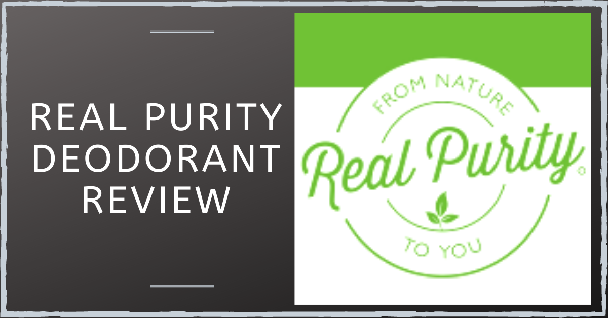 Real Purity Deodorant Review