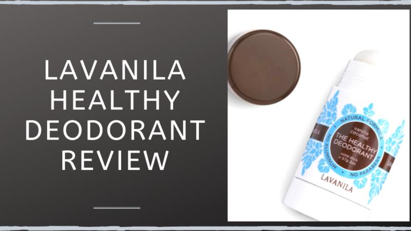 Lavanila Healthy Deodorant Review