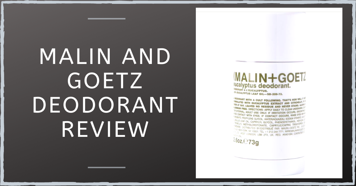 Malin and Goetz Deodorant Review